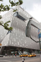 perforated metal sheet facade cladding COOPER UNION Zahner