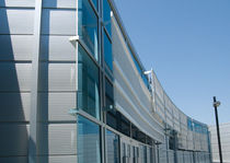 perforated metal sheet for facade cladding (aluminium) PERFORATED GRILLES doralco
