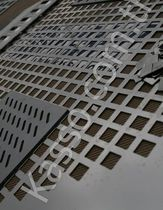 perforated sheet metal panel (square holes) K - 08 Kasso Engineering Limited Co.