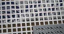 perforated sheet metal panel (square holes) K - 09  Kasso Engineering Limited Co.