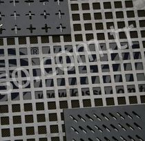 perforated sheet metal panel (square holes) K - 12 Kasso Engineering Limited Co.