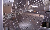 perforated sheet metal panel (round holes) YUV - 01 Kasso Engineering Limited Co.