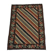 persian kilim rug in wool CAUCASE KARABAGH  GALERIE GIRARD