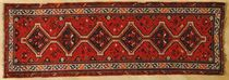 persian kilim rug in wool (Shiraz, handmade) SHIRAZ EXTRA BORALEVI SRL