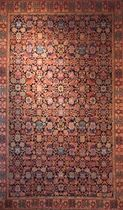 persian motif rug in wool (handmade) TRADITIONAL BESHIR Torana Carpets