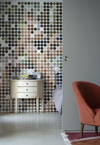personalized non-woven wallpaper POINT FOULE GAF
