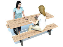 picnic table for public spaces RP317 Record RSS