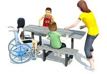 picnic table for public spaces RP319 Record RSS