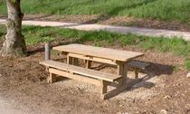 picnic table for public spaces  Rondino