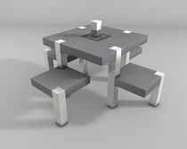 picnic table for public spaces TEAMWORK Modo Srl