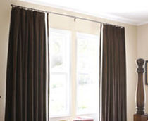 pinch pleat plain curtain  Avenue home