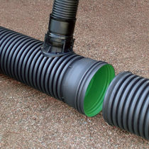 piping for drainage system (environmentally friendly) AQUATUB-RW HEGLER PLASTIK