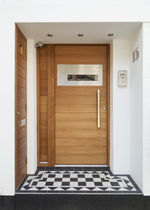 pivot door with offset axis FERRARA Urban Front Ltd