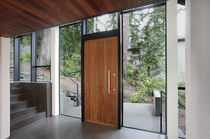 pivot door with offset axis RONDO V Urban Front Ltd