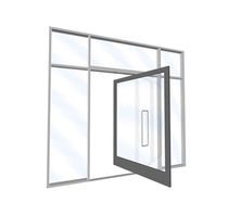 pivot door with central axis  Arcadia, Inc.
