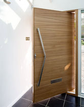 pivot door with offset axis MILANO Urban Front Ltd