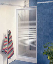 pivot shower screen for niche shower M_4P  Friges