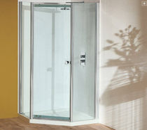 pivoting shower screen for corner shower NPQ900 matki showering