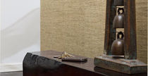 plain natural fiber wallpaper TOUCH : SHIFU Lori Weitzner Design