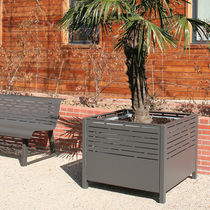 planter for public spaces PANORAMIC 900 x 900 x 720 (495 x 495 x 900) ACCENTURBA