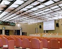 plasterboard decorative acoustic panel (for suspended ceilings, selfstanding)  SADI POLIARCHITETTURA