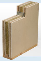 plasterboard rigid acoustic fire-retardant insulation panel (for walls) IW135 Faay Wall and Ceiling Systems 