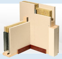 plasterboard rigid acoustic fire-retardant insulation panel (for walls) IW90 Faay Wall and Ceiling Systems