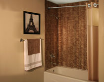 plastic decorative laminate for wet rooms MIRROR FLEX Advance Technology Inc.