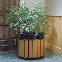 plastic planter for public spaces 153 DuMor, Inc.