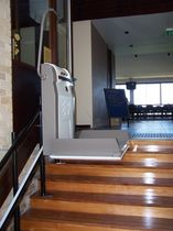platform stair lift for the disabled STEPPER E.P.ELEVATORI PREMONTATI