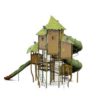 play structure BIG XL TOWER 1 HUSSON INTERNATIONAL