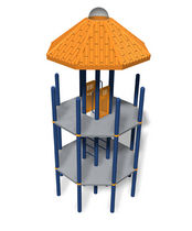 play structure PLAYODYSSEY® : #185296A LANDSCAPE STRUCTURES