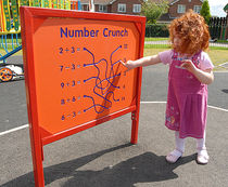 playground display panel NUMBER CRUNCH Record RSS
