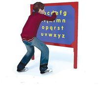 playground display panel ALPHABET Record RSS