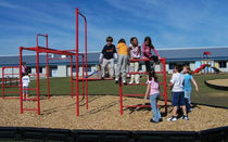 playground safety surfacing (engineered wood fiber)  BYO Playground, Inc.