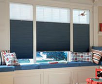 pleated blind OPTILIGTH BLOCKOUT Avenue home