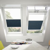pleated blind for roof window  VELUX