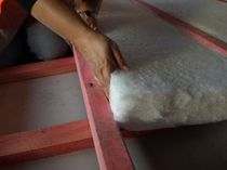 polyester thermal and acoustic insulation panel (made from recycled plastic bottles) NOVAHOME INSULPRO