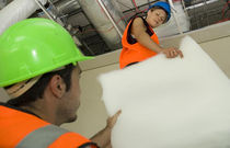 polyester thermal and acoustic insulation panel (made from recycled plastic bottles) NOVAHUSH INSULPRO
