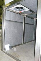 polyester thermal and acoustic insulation panel (made from recycled plastic bottles) POLYPHONE® 63T, 49T ET T222 DECIBEL FRANCE