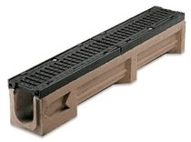 polymer concrete drain channel with grating CAST - BLOCKING 150 GRIDIRON