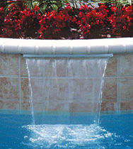 pool waterfall OASIS SAVI Pool and Spa