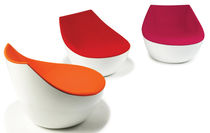 pop art design fireside chair ORBITAL by Christophe Pillet Modus