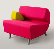 pop art design fireside chair LOGO by Nauris Kalinauskas Contraforma