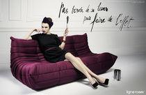 pop art design modular sofa TOGO by Michel Ducaroy Ligne Roset France