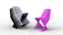 pop art design stacking chair ISO by Cedric Ragot Qui est Paul