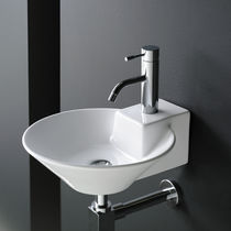 porcelain counter top washbasin BIARRITZ The Bath Collection