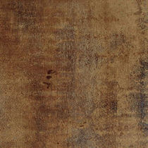 porcelain stoneware floor tile: cooper look ACERO CORTEN OCRA COTTO TILES