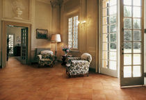 porcelain stoneware floor tile: terracota tile VILLE D'ITALIA : VILLA RICASOLI COTTO D'ESTE