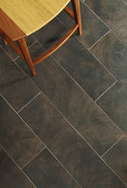 porcelain stoneware floor tile: wood look NOCCHIO ANN SACKS
